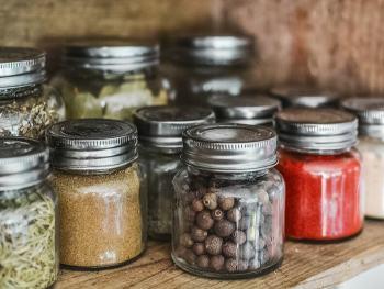 Food storage for bulk items, organize your pantry, kitchen pantry, minimalist kitchen, minimalist pantry