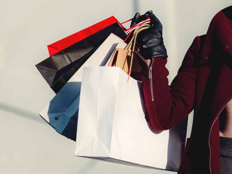 Learn how to stop shopping for fun.