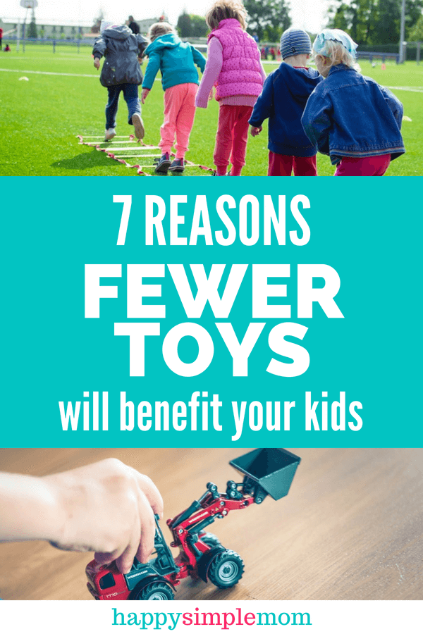 Fewer Toys Can Benefit Your Kids | Minimalism with Kids
