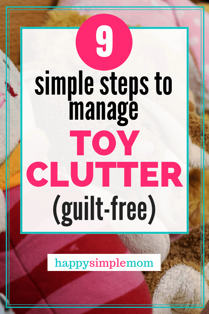 Use these kid's toy storage solutions to manage toy clutter once and for all.