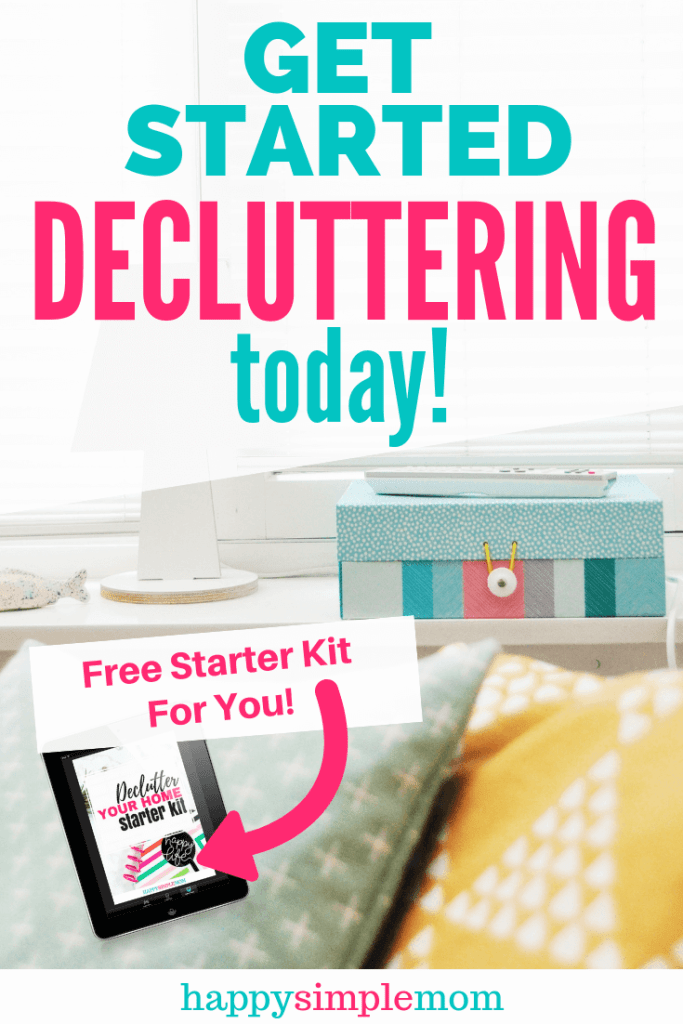 Use these 3 core principles to declutter your home. A clutter-free home is possible. Download the FREE Declutter Your Home Starter Kit, and get started with decluttering today.