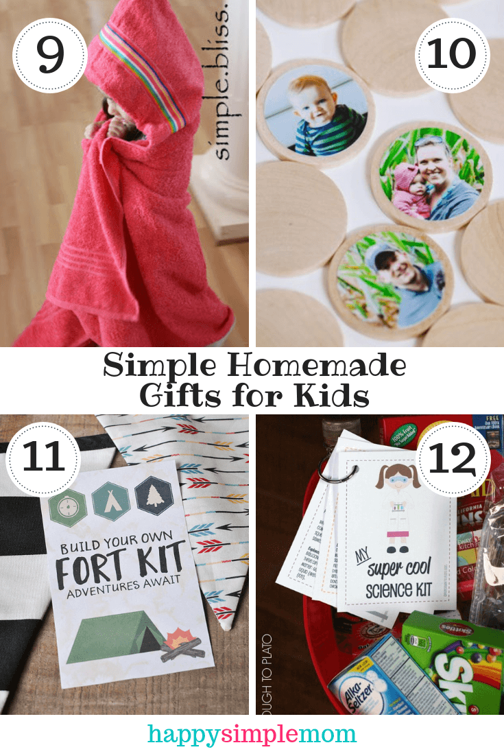 Simple Homemade Gifts for Kids