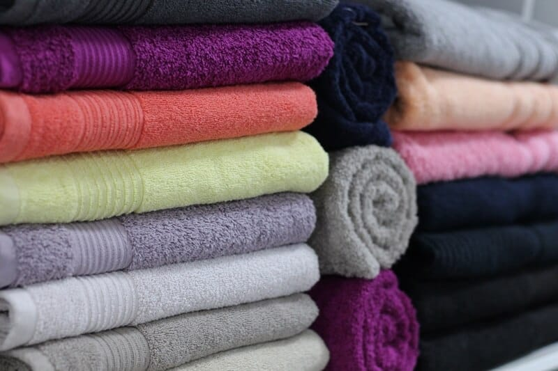 Declutter your linen closet.