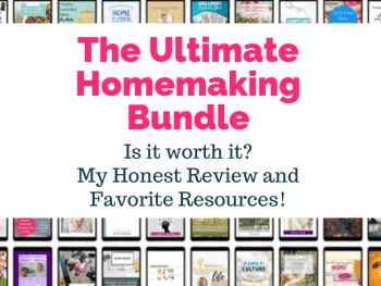 Ultimate Homemaking Bundle Review