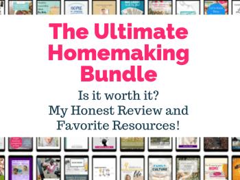 Ultimate Homemaking Bundle Review