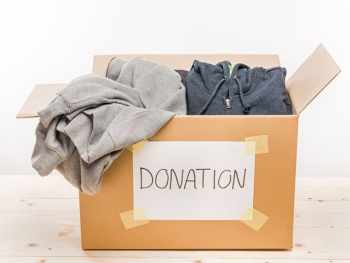 Donate and declutter during Lent.