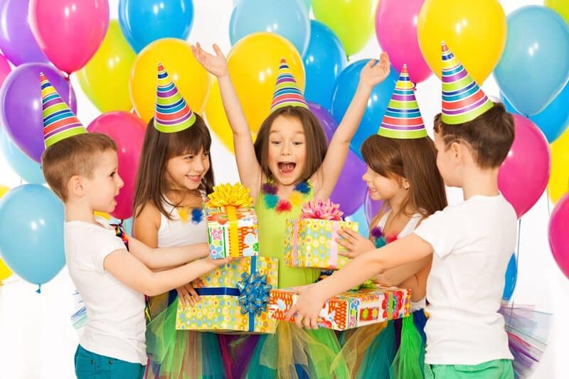 Our fiver birthday party failed because kids like to give gifts as much as they like to receive them.