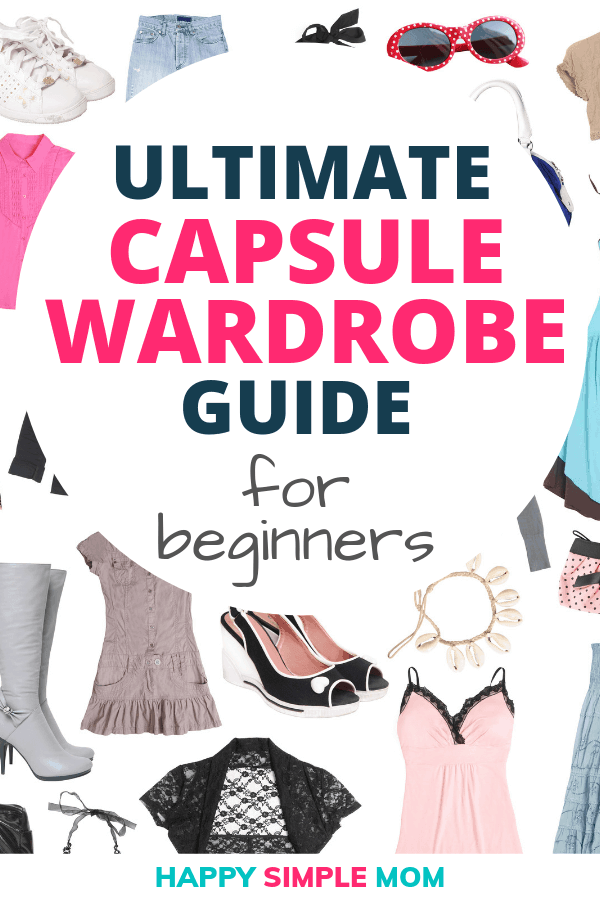 Use this capsule wardrobe guide for beginners to put together your perfect capsule wardrobe.