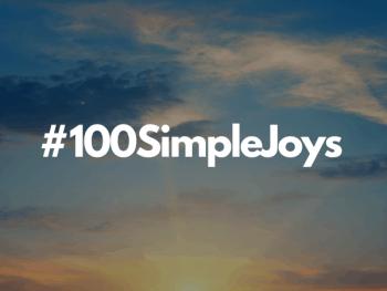 #100SimpleJoys