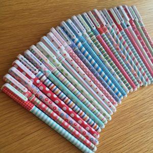 stylo kawaii lyon happy sispyhe papeterie mignon pastel fourniture scolaire