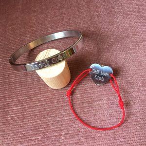 Bracelets à graver acier inoxydable Bar à Bijoux Happy Sisyphe
