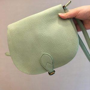 Sac vert pastel pratique tendance Happy Sisyphe boutique Lyon