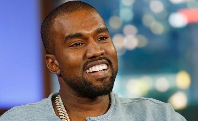 Kanye West Smiles