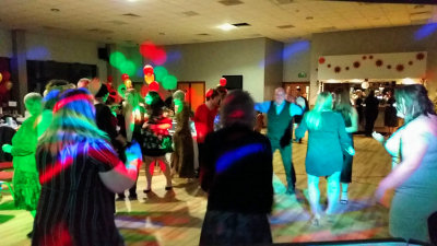 The British Ironwork Centre - Christmas Party - The Venue at Park Hall - Happy Sounds Mobile Disco