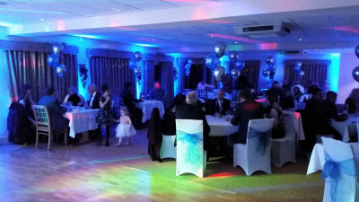 30th Birthday - Up-Lighting - Henlle Park Golf Club - Happy Sounds Mobile Disco