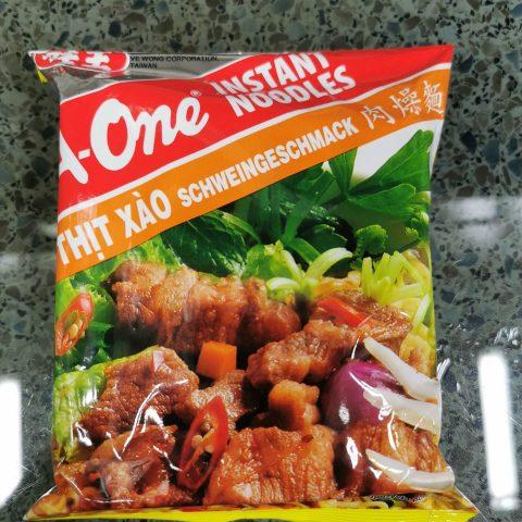 A-One Mì Thịt Xào (Schweinegeschmack / Pork Flavor)