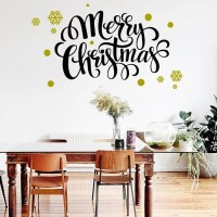 Merry Christmas Wall Decal - Happy Stickers