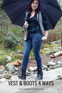 Vest and Boots 4 Ways