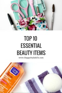 Pin now to save for later. Top 10 Essential Beauty Items: Brows, dry shampoo, leave in conditioner, shower cap, mascara, and more.
