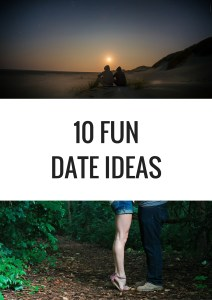 10 Fun Date Ideas - 10 fun, unconventional date ideas for you and your favourite person. Most of the ideas are cheap or free! - Happy Stylish Fit