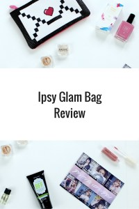 See what I thought of my Ipsy Glam Bag my reading my review: naked cosmetic pigment eyeshadow or highlight, VINTAGE lip gloss, Trust Fund Beauty nail polish, Pefectly Posh BFF face wash, and Smashbox Photo Finish primer oil.
