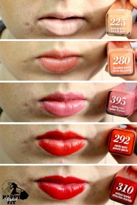 Click to see the review and swatch for the creamy, buttery Colorlicious Covergirl lipstick..