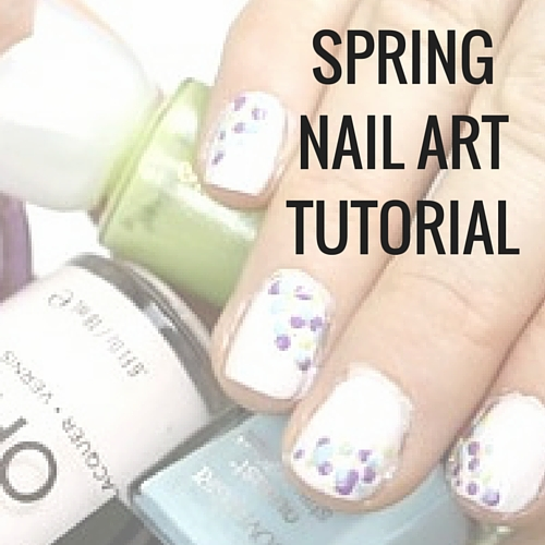 Spring Nail Art Tutorial for Beginners and All Skill Levels - Happy ...