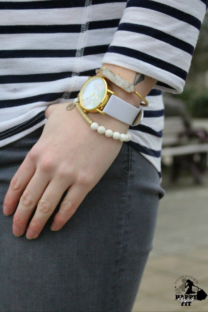 Check out these styling tips for how to wear stacked bracelets.