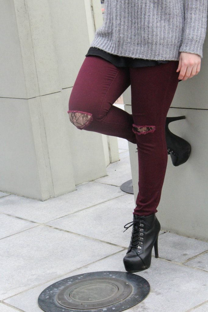 Learn different ways to wear fishnets this season.