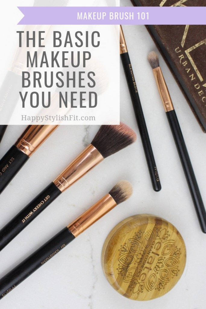 The basic makeup brushes you need for makup essentials plus what to look for when shopping for makeup brushes and how to use them. #MakeupBrushes #VeganMakeupBrushes #MakeupBasics #MakeupEssentials