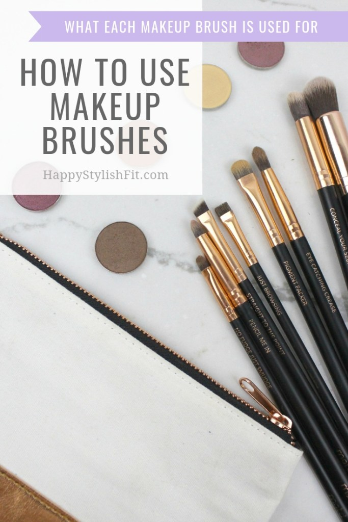 How to use makeup brushes and what each makeup brush is used for. #MakeupBrushes #VeganMakeupBrushes #MakeupBasics #MakeupEssentials