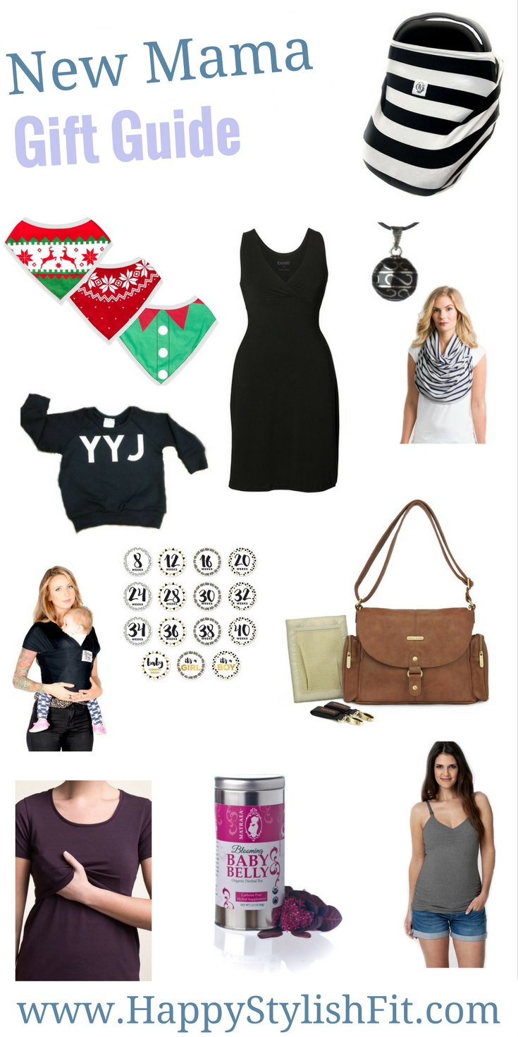 New mama holiday gift guide.