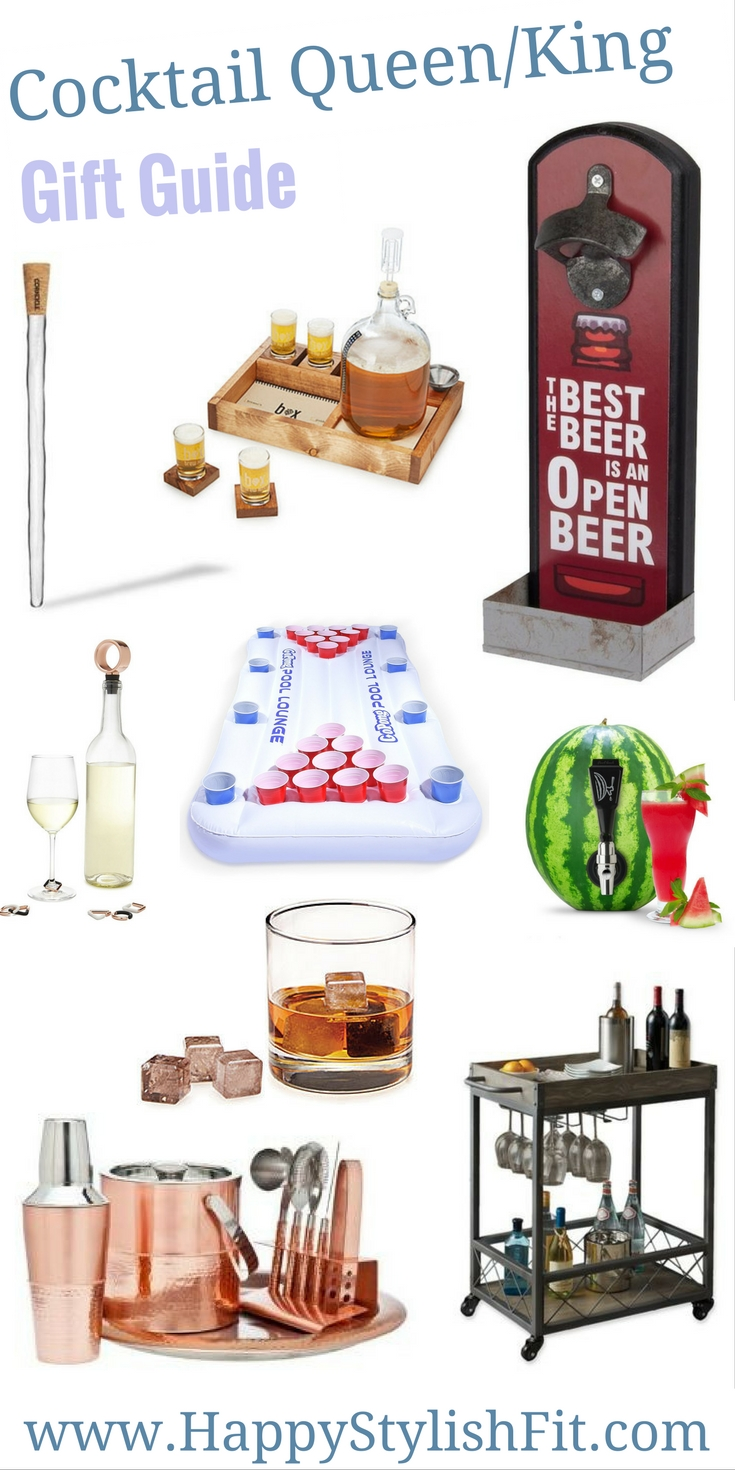 Gift Guide for the cocktail lover on your list.