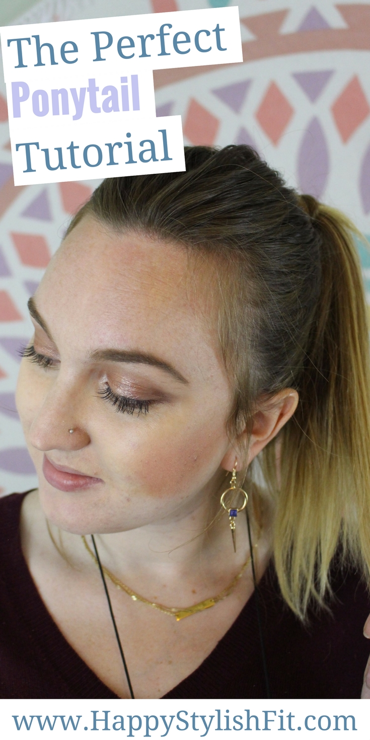 The perfect ponytail tutorial is here to bring your ponytail from blah to fab.