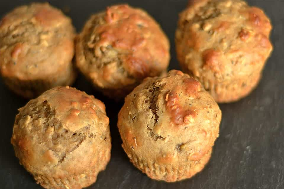 5 super tasty healthy muffin recipes.