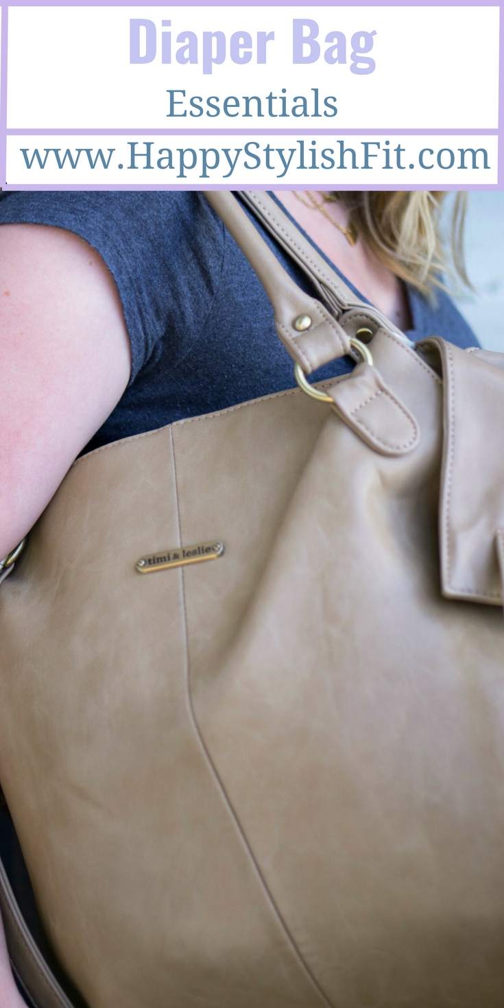 These diaper bag essentials are all you need to go out for the day with baby.
