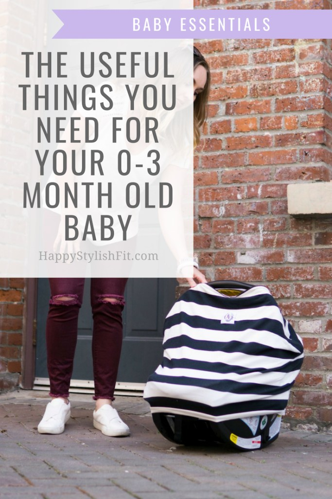 Baby essentials: things you need for your 0 - 3 month old baby. Get prepared for your newborn baby. #Newborn #babyessentials #firsttimemom