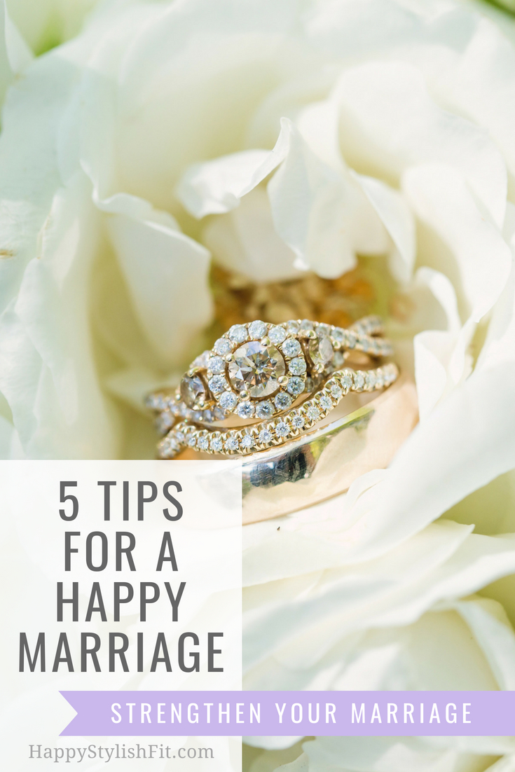 5 Marriage tips for newlyweds to have a happy marriage. #Marriage #Newlyweds #Relationships #MarriageAdvice #MarriageTips #Wedding #HealthyMarriage #HappyMarriage