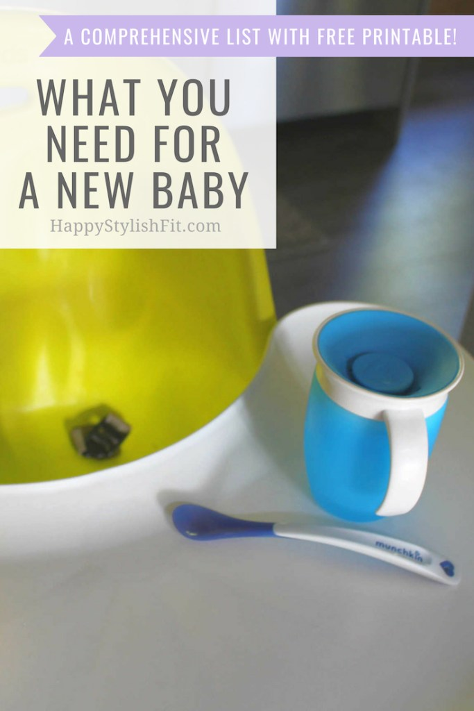 What you need for a new baby as a first time mom. A very comprehensive first time mom shopping list for setting up your amazon baby registry. #pregnancy #FirstTimeMom #Baby #Newborn #BabyRegistry #BabyShower