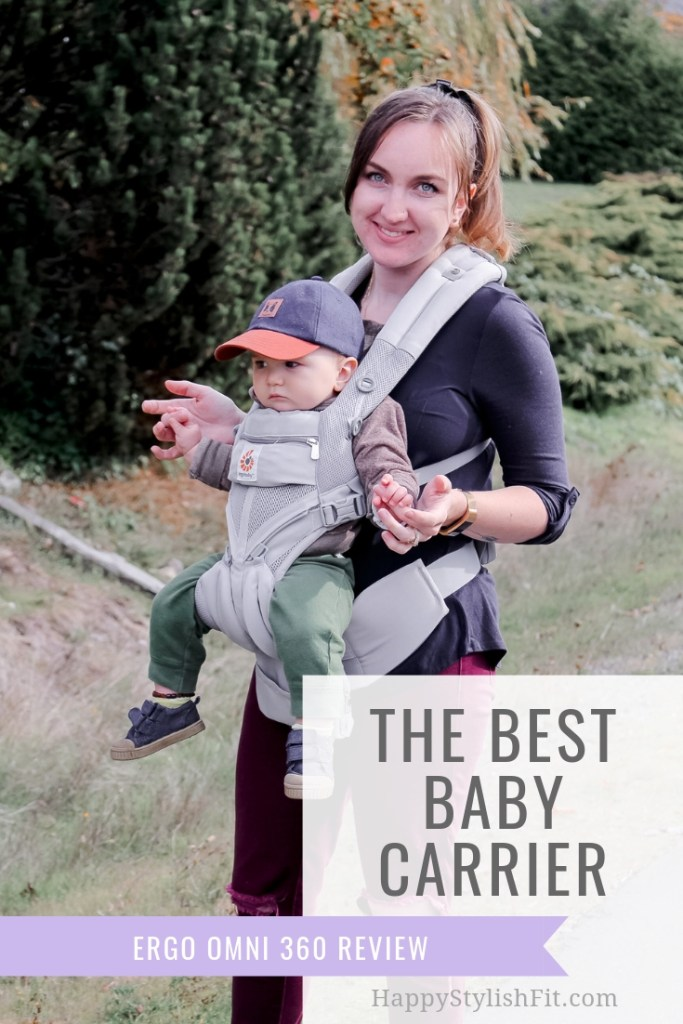 Ergo Omni 360 review. Make sure you check out this review of the best baby carrier before you decide on which structured carrier you want to buy. #BabyWearing #BabyCarrier #Ergo #StructuredCarrier