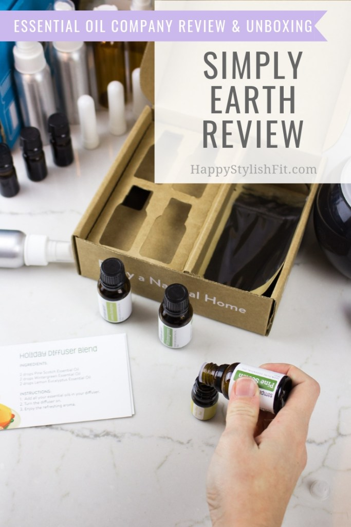 Simply Earth review and November Simply Earth Unboxing. #SimplyEarth #EssentialOils #NaturalHome