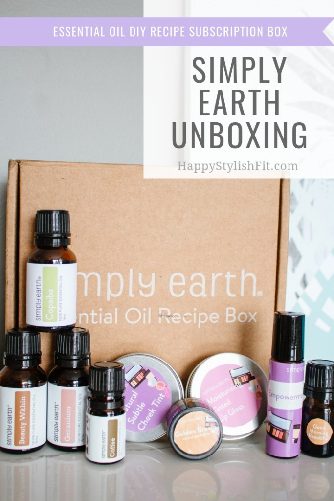 February Simply Earth Subscription Box