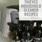 Thieves Cleaning Recipes Using Thieves Household Cleaner Relatable Motherhood Jannine Mackinnon