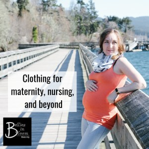 Bellies in Bloom, more than just a maternity store. Clothing for maternity, nursing and beyond. Located in Victoria BC
