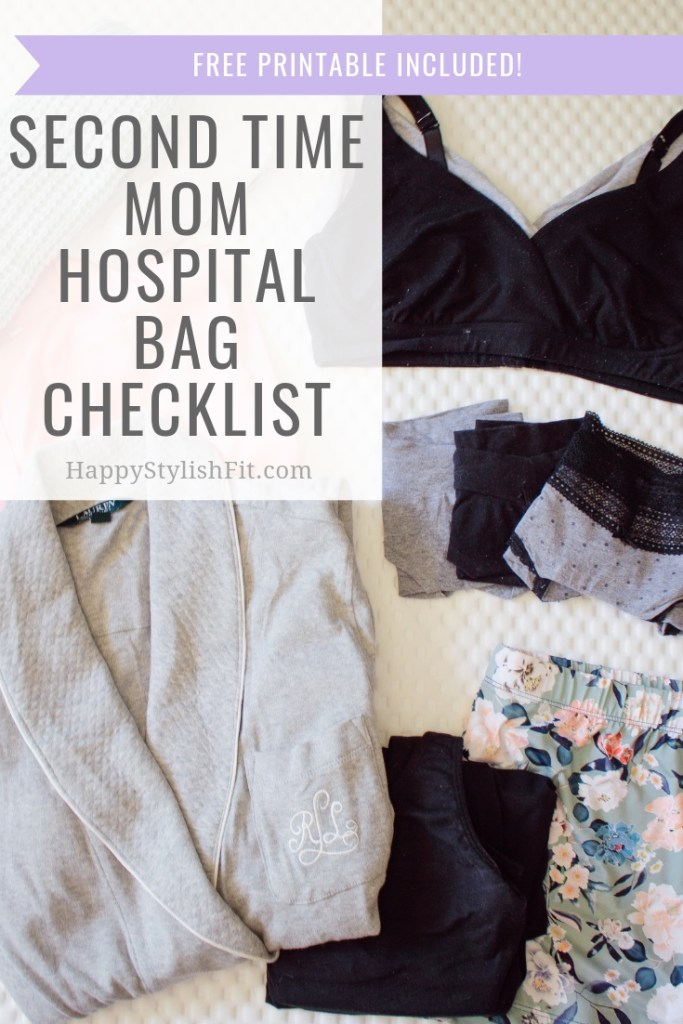 Second time mom hospital bag checklist. The minimalist's labour checklist from a second time mom. Free printable included