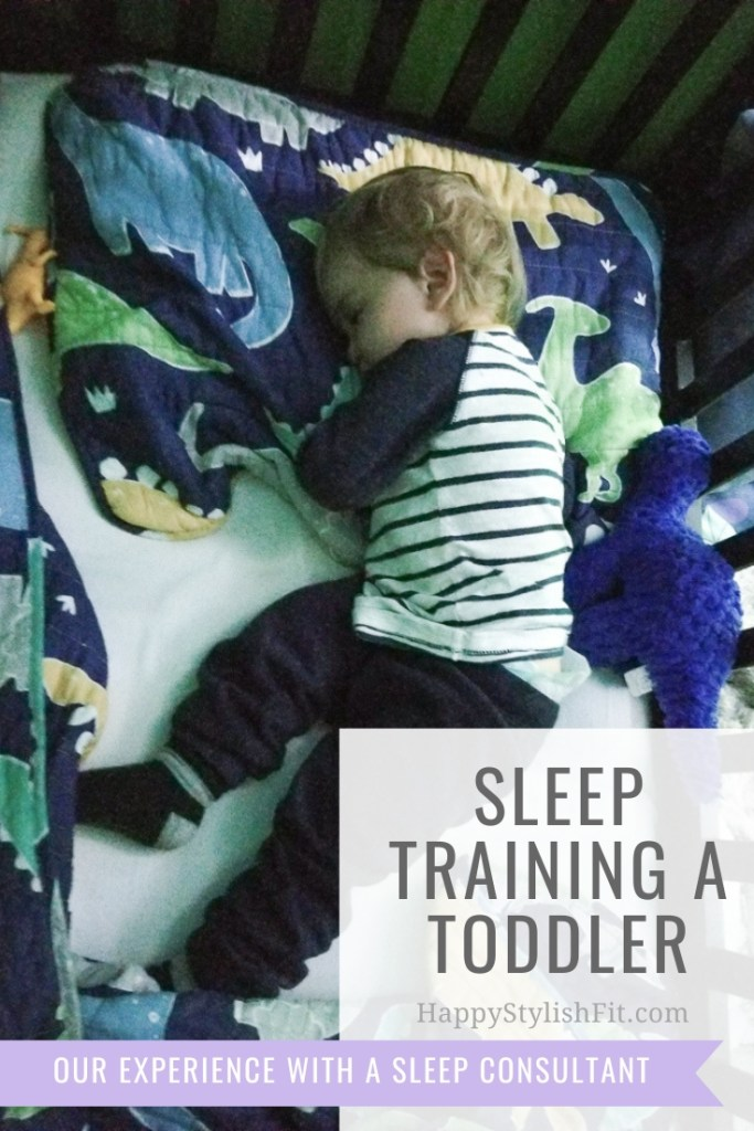 Our experience sleep training a toddler with the help of a sleep consultant who used a gentle method of sleep training.