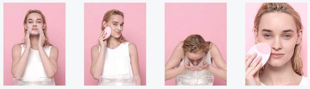 Foreo洗臉機使用方法