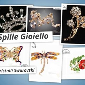 Spille Gioielli Swarovski