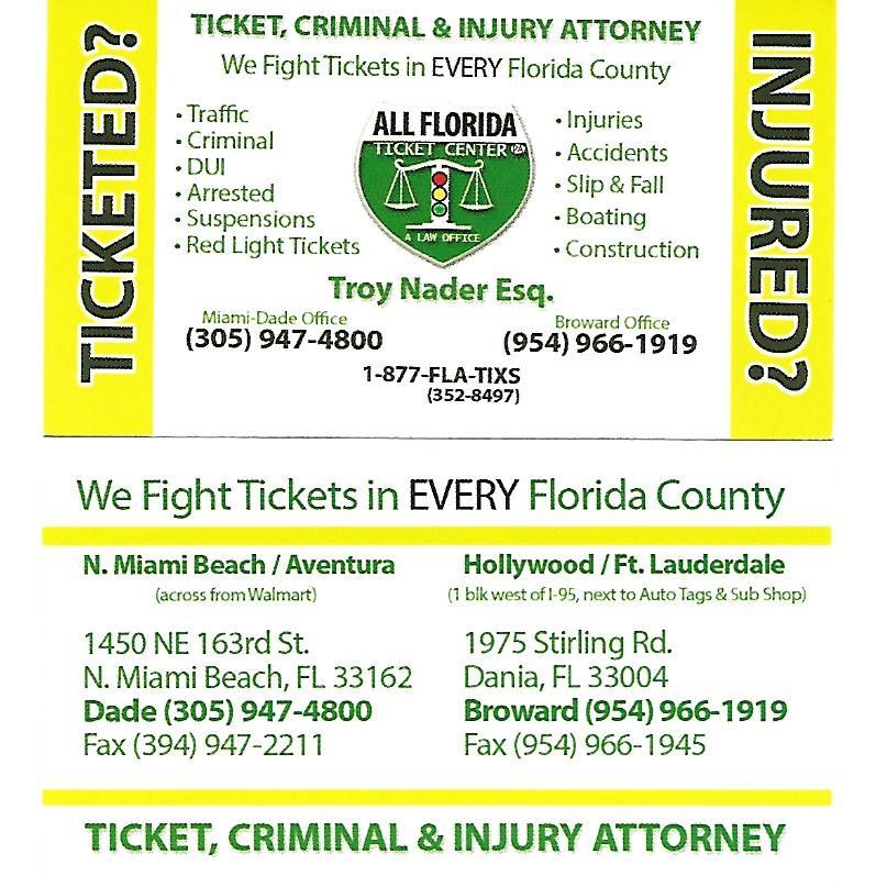 Miami Dade Red Light Ticket Centralroots Com