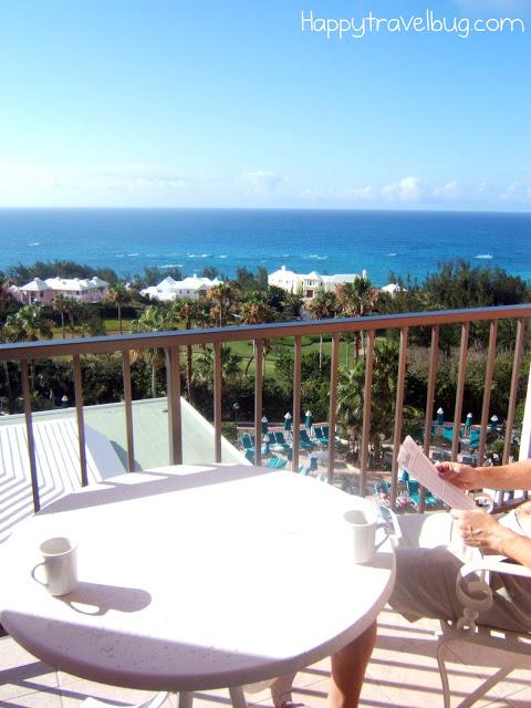 Fairmont Southampton Hotel balcony view